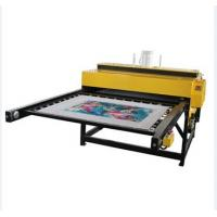 Max width pneumatic double sublimation heat prees machine for coth printing