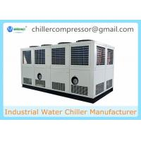 Wholesale Siemens PLC Control 100 tons Air Cooled Screw Water Chiller with Variable Water Pumps from china suppliers