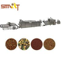 Wholesale 500kg Production Capacity Pet Food Making Machine Double Screw Extruder from china suppliers