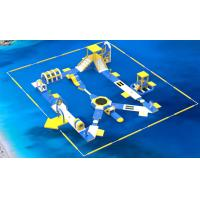 Buy cheap 0.9mm PVC Tarpaulin Inflatable Floating Water Park Games For Adults from wholesalers
