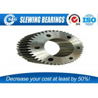 Wholesale Custom Open Die Forging Gear And Shaft Set Carbon Steel For Machine from china suppliers