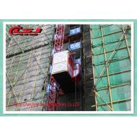 High Duty Personnel And Materials Hoist / Construction Site Elevator 2 Ton Capacity