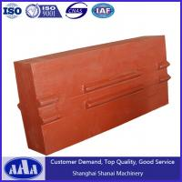 Quality high chrome blow bar impact crusher blow bar hammer plate crusher spare parts for sale