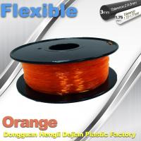 Wholesale Orange Flexible 3D Printer Filament Consumables With Great Adhesion from china suppliers