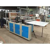 China Eco Friendly Plastic Bag Manufacturing Machine , High Speed Bag Making Machine Semi Automatic on sale