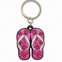 Wholesale Keychain, Made of Soft PVC, OEM Orders and Customer's Designs are Welcome from china suppliers