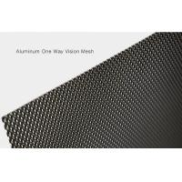 China 2400mm Long No Rust One Way Vision Mesh For Preventing Rain Anti Corrosion on sale
