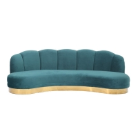Wholesale 215x80x88cm European Modern Tufted Sofa For Living Room Furniture from china suppliers