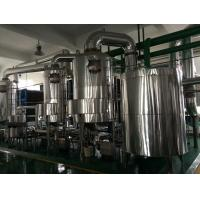 Wholesale PHE High Heat Transfer Multiple Effect Evaporator Wastewater Treatment  Industrial from china suppliers