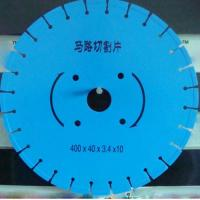 Wholesale 400mm Circle Saw Blades 350mm in Blue Color cutting road from china suppliers