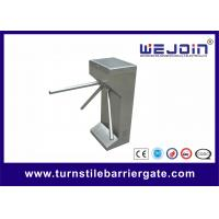 Wholesale Automated waist high Tripod Turnstile Gate vehicle access control barriers , Rotation Pan from china suppliers