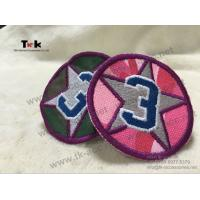 China Adhesive Custom Embroidered Patches German Embroidered Uniform Patches OEM / ODM on sale