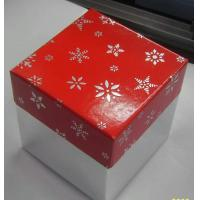 Wholesale Multi Cartoon Christmas Packaging Boxes White Card Paper With Ribbon from china suppliers