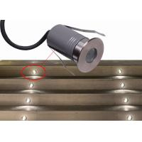 Wholesale DMX Waterproof Aluminum LED Mini Ground Light Warm White 3W LED In-ground Driveway Lights from china suppliers