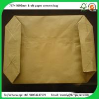 China BMPAPER White top PE coated one side paperkraft liner for cement bags on sale
