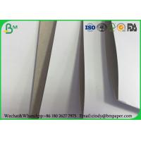 Wholesale White Top Clay Coated Paperboard , 230g 250g 300g One Side Coated Paper Board from china suppliers