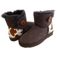 Buy cheap Classical Women Sheepskin Winter Boots Double Face Fur Anti - Slip from wholesalers