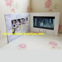 "Wholesale 4.3"" , 5 inch video player advertisement card,advertising video book with Touch screen from china suppliers"