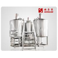 Wholesale 3 Bbl Draught Beer Machine , Commercial Brewing Equipment For Hotel from china suppliers