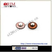 China Brass rivet 8MM R7 Oxid alloy/R7 Copper Tin bead assemble round fashion metal button on sale