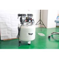 Buy cheap 40L 1.1HP Silent Oilless Air Compressor For 2 Dental Chair Units Energy Saving from wholesalers