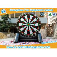 Wholesale 4MH Single Side Inflatable Score Board Inflatable Football Game For Human from china suppliers