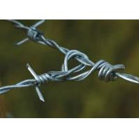 Solid Sharp Razor Barbed Wire Fence , Barbed Wire Cattle Fence For Agriculture