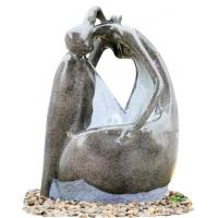 Wholesale Fiberglass Water Fountain Beautiful Lady Marble Color for Garden Decorative from china suppliers