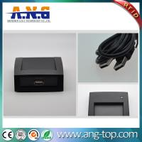Wholesale FDX-B 134.2KHz animal microchip tag RFID desktop LF reader with USB from china suppliers