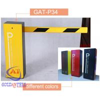 China Heavy Duty Boom Barrier Gate , drop arm barrier RFID card controlled durable motor on sale