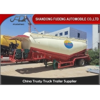 Wholesale Steel 3990mm 60t 70cbm Bulk Cement Tanker Trailer from china suppliers