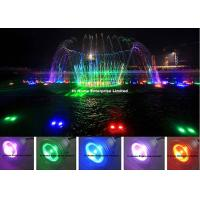 Wholesale Automatic Control 9 Watt Led Underwater Lights / Ip68 Led Fountain Light from china suppliers