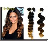 Wholesale Natural Wave Virgin Peruvian Hair Extensions Three Tone 14''- 28'' from china suppliers