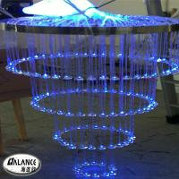 Wholesale LED RGB chandeliers for wedding parties decoration from china suppliers