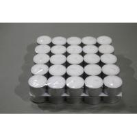 Buy cheap Aluminium Cup White Tealight Candle from Wholesalers