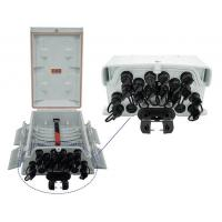 Wholesale Ftth Outdoor 16 Core Fiber Optic Termination Box Pre - Connected IP 65 FDB from china suppliers