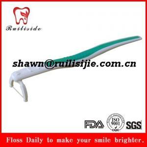 Y shape dental floss holder,head replaced new dental floss pick