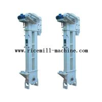 Quality DTG36 / 18 Iron White Bucket Elevator Conveyor For Rice Mill Plant for sale