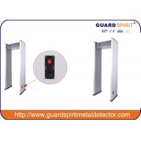 IP65 Arch Deep Search Metal Detector Safety , Portable Walkthrough Metal Detectors