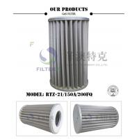 China Pleated Metal Mesh Gas Filter Element For Pipeline Industry 6.4MPa Pressure on sale