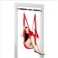 Buy cheap Fantasy Love Bondage Sex Toys novelty door Black sexy swing For adult game from Wholesalers