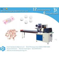 China China factory High quality turntable type automatic Feeding & packing line packing machine for Compressed facial mask on sale