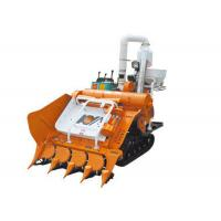 Wholesale Self Walking Crawler Half-feeding Combine Harvester 4LBZ-110 with 20HP diesel Engine from china suppliers
