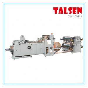 Buy cheap JDPM-600 model V bottom paper bag making machine with 4 color flexo printing machine from Wholesalers