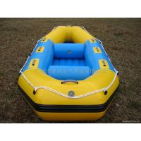 Wholesale (CE) PVC material optional floor color fold 2011 best-selling plywood drift boat from china suppliers
