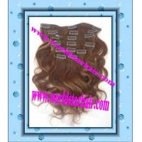 Wholesale clips in hair extention from china suppliers