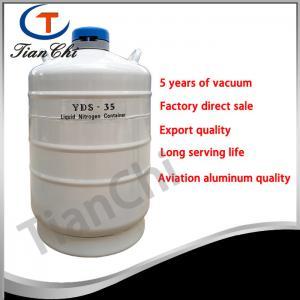 China 35L Liquid nitrogen transport tank 50 mm Caliber cacuum container manufacturer on sale