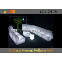 Wholesale Outdoor Exhibition Furniture with glass Built-in rechargeable battery and RGB light from china suppliers