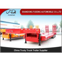 Wholesale FUWA / BPW Axle Low Bed Semi Trailer High Tensile Steel Q345B Material from china suppliers