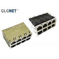 2 x 4 Stacked 10G Ethernet Port Rj45 Connector 30 U